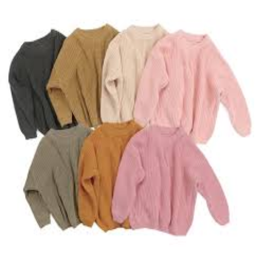Wholesale Baby Girl Casual Sweaters