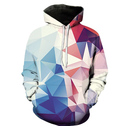 le Printed colored Hoodies