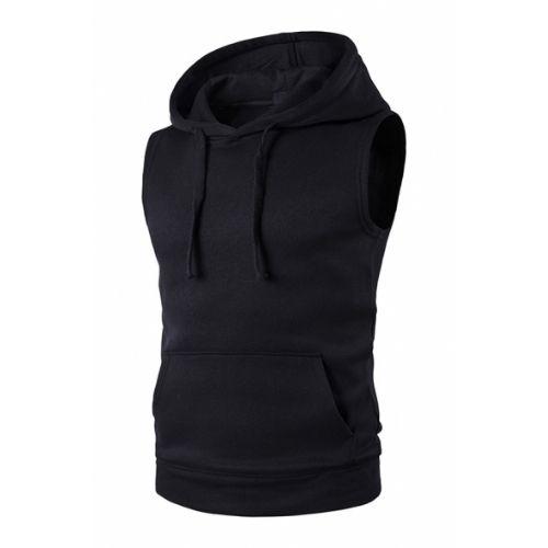 Wholesale Gymwear Sleeveless Hoodie
