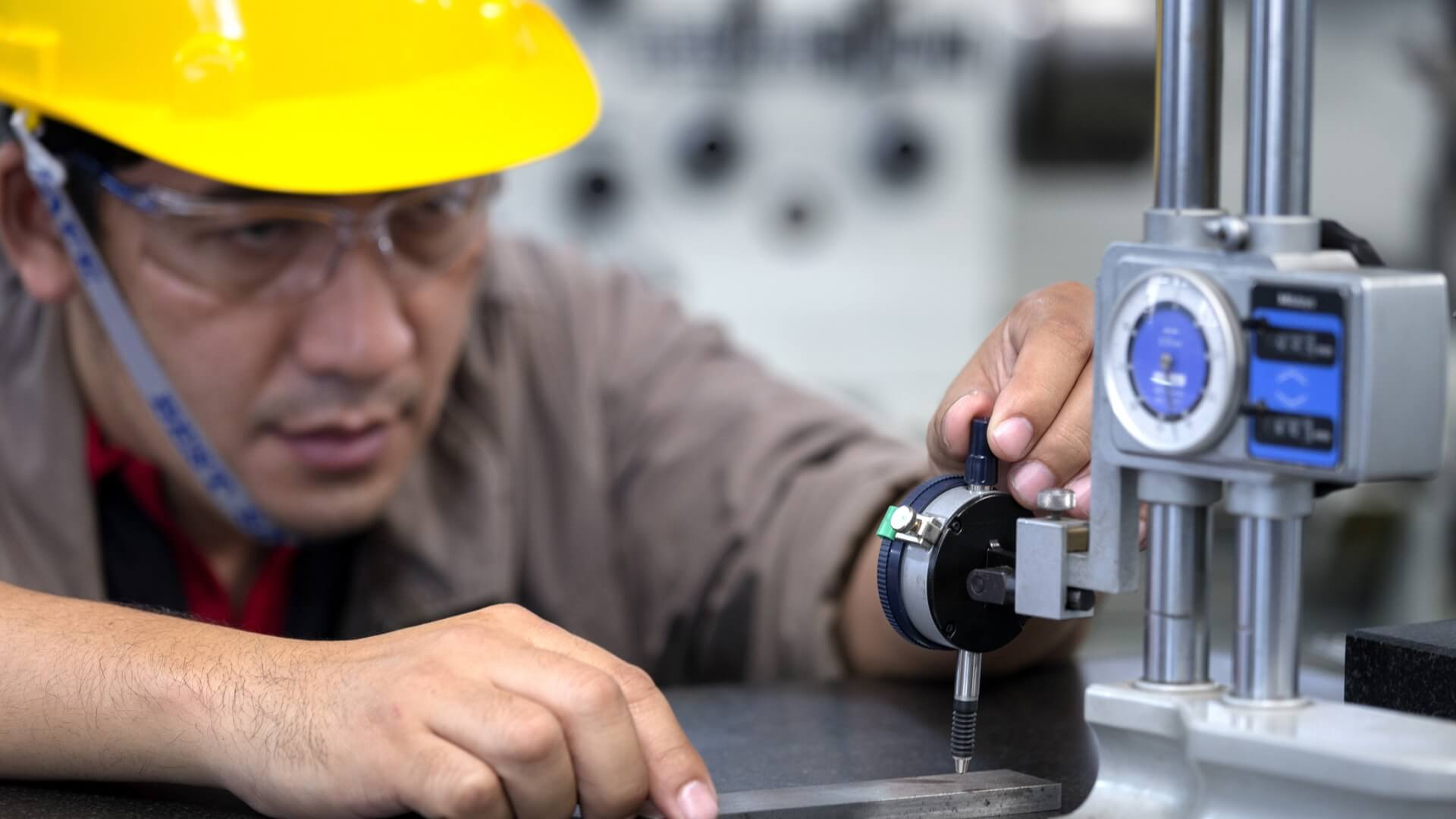 QC inspection during manufacturing