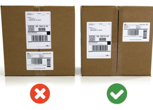 Amazon Package Label